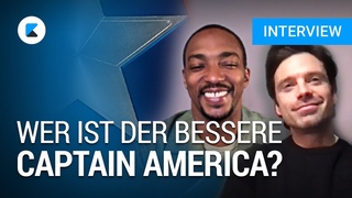 Wer ist der bessere Captain America? - The Falcon and the Winter Soldier im Interview