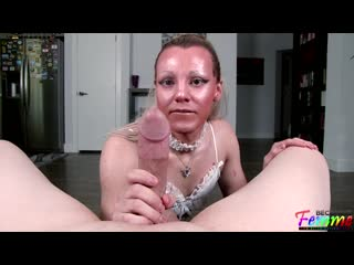 Lucy West - Addicted To The Dick [04.08.2020 г., Shemale Hardcore, Blowjob, Anal, Bareback]