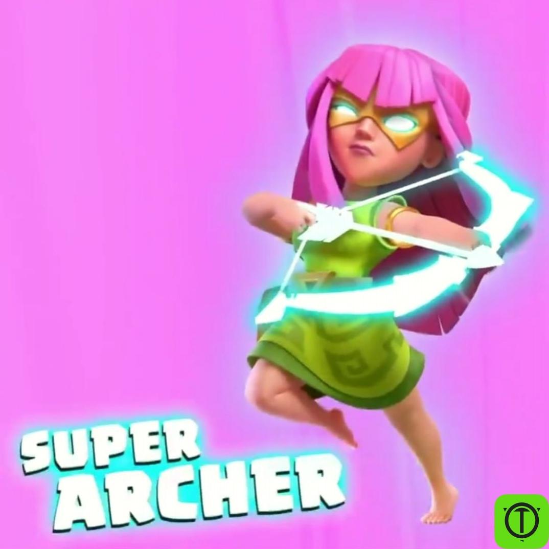 Новый супер-юнит в Clash of Clans! Супер Лучница