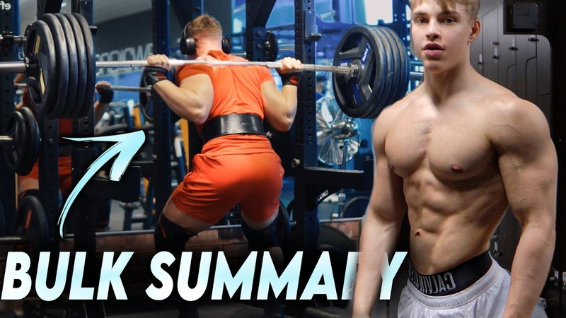 Bulk Summary Huge Squat PR Journey To Stage Ep 14