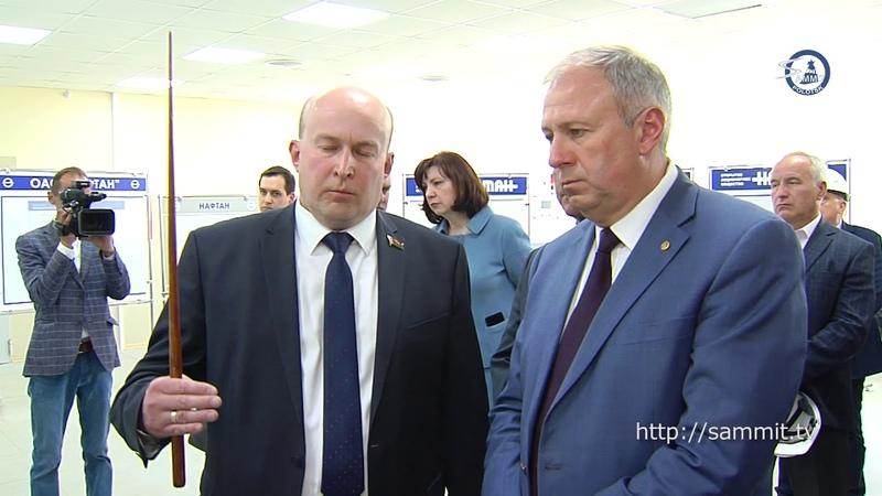 «СаммитТВ»: В Полоцк и Новополоцк приезжали премьер Сергей Румас и глава АП Наталья Кочанова