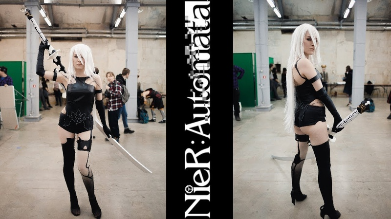 NieR Automata A2 Cosplay by AprillCross at Dat Fest 2020
