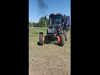 Трактор МТЗ (турбо). Перед бизон трек шоу 2018