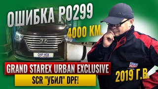URBAN EXCLUSIVE 2019 г.в.Ошибка Р0299. 4000 км.Причина выхода из строя DPF.#chipmsk #urbanexclusive