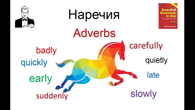 Говорить правильно не трудно Наречия действия в английском