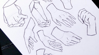 How to draw Anime Hands NO TIMELAPSE [Anime Drawing Tutorial for Beginners]