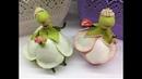КУКЛА из ФОАМИРАНА Цветочная фея -держатель для ювелирных изделий