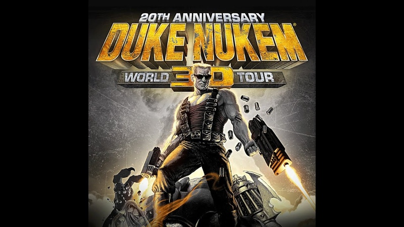 Duke Nukem 3D 20th Anniversary World Tour E4M6 Прохождение на Выкуси