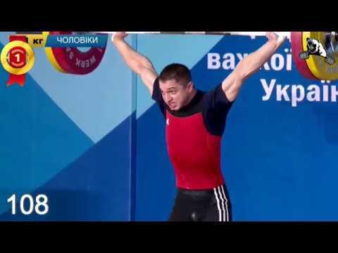 🏆Дмитро Вороновський чемпіон України 55кг 100 105х 108 125 132 137 ЧУ з важкої атлетики 2019