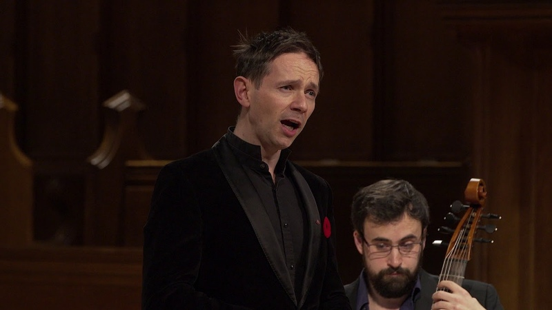 Henry Purcell Evening Hymn by Iestyn Davies Fretwork Viol Consort arr Silas Wollston EMV