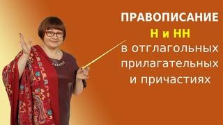 Правописание Н и НН в отглагольных прилагательных и причастиях | ЕГЭ Русский язык 2021