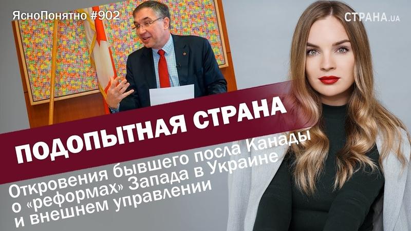 Подопытная страна Откровения экс посла Канады о реформах в Украине и внешнем управлении 902