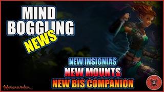 BIG NEWS- NEW MOUNTS , NEW INSIGNIAS & NEW COMPANION.