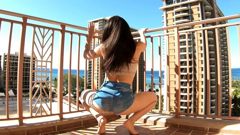 トゥワークダンス みくり MiQri Twerk Hawaii free style