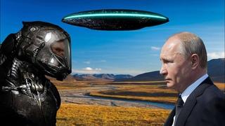 Путин встречался с пришельцами в марте 2015. Видео учений российских военных с инопланетянами