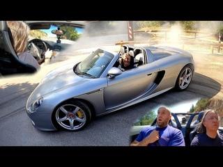 LA VOITURE DE PAUL WALKER 😱😰 !! J'AI VOMI EN CARRERA GT 🤢🤮 !! (ÇA GLISSE)