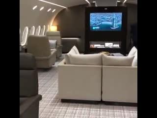 Посмотрите на этот удивительный частный самолет!