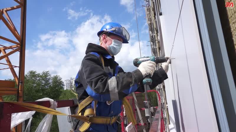 Возобновление строительства дома на улице Шверника