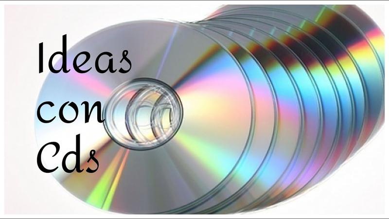 ♻ 3 ideas para reciclar Cds Reciclaje Manualidades fáciles DIY