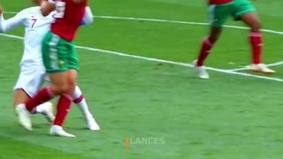 Cristiano Ronaldo vs Morocco Titanic Dive