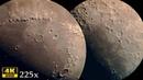 ЛУНА 4К видео снято через телескоп 225 крат MOON 4k video Carl Zeiss