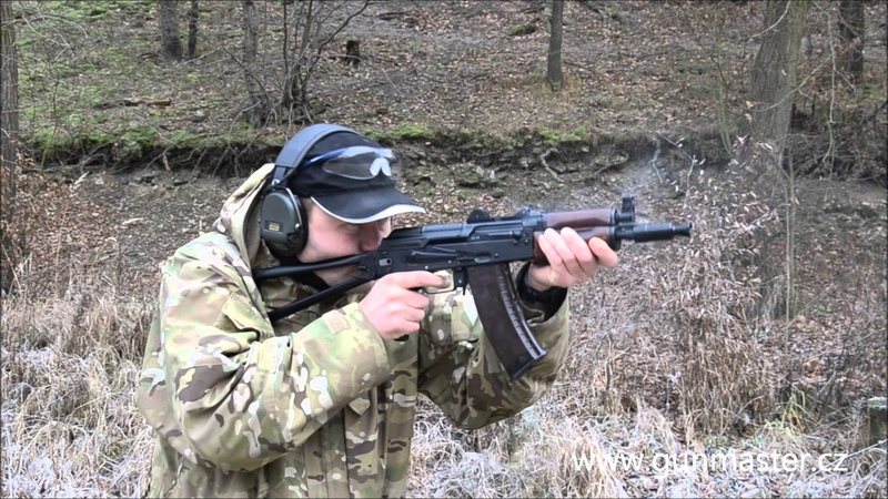 AKS74U shooting