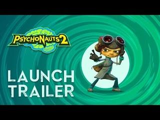 Psychonauts 2 Launch Trailer