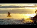 雨晴海岸の気嵐 けあらし Steam Fog at Amaharashi coast Shot on RED EPIC