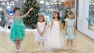 Новогодний утренник в детском саду №698. Видеосъемка в детском саду Санкт-Петербурге