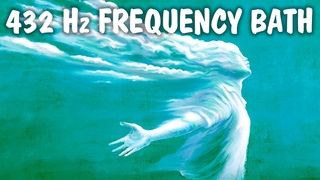 432 Hz Frequency Bath ! Grounding While You Sleep, Meditation, Relaxation, Yoga, Attraction, Healing
