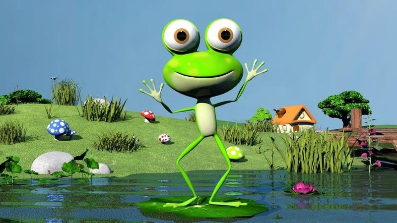 Песенка про Лягушку Танец лягушки 9 минут музыки для детей