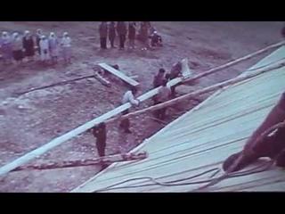 """""""Изба на Унже"""". Русский деревянный дом 1972 г."""