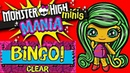 MONSTER HIGH MINIS MANIA REVIEW JiNAFiRE LONG as COMPLETE BINGO REWARD / 2017