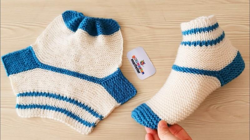 Bay Bayan çorap patik yapımı Yeni patik modelleri yapılışı Çeyizlik patik örnekleri Kolay patikler