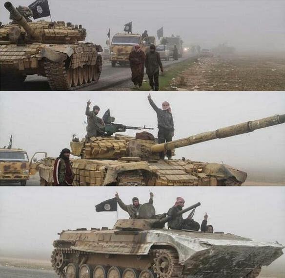 Та самая колонна и тот самый Т-72АВ