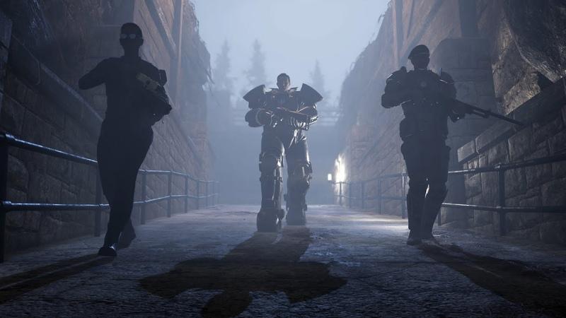 Fallout 76 Власть стали видеоролик к выходу дополнения