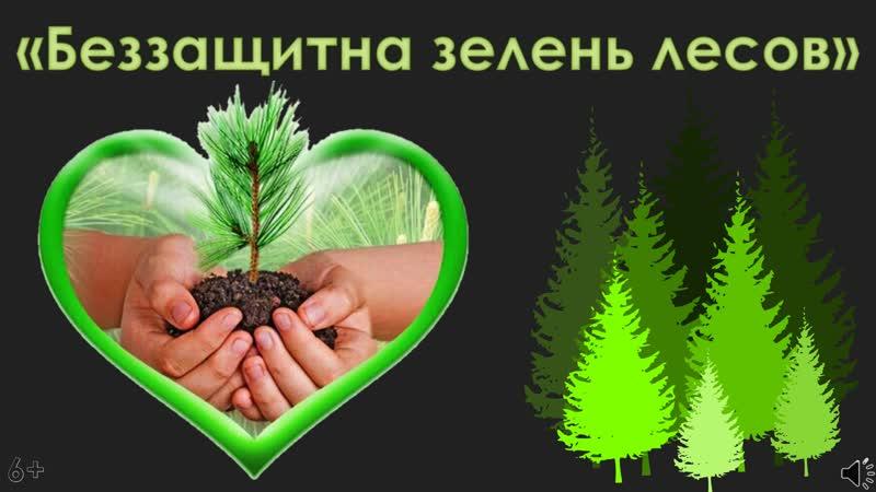 Беззащитна зелень лесов