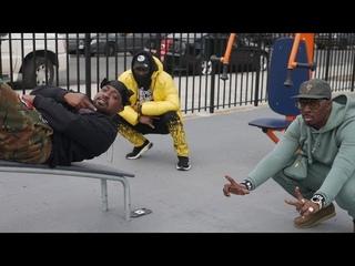 """Kenyattah Black featuring Rim - """"Black Gorrillah Rap"""" official music video"""