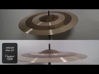 Centent Cymbals - ARDOR 20 Ride