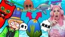 КТО больше получит ЛЕГЕНД Папа и дочки vs RED CAT vs ЖЕНЯША Roblox Adopt Me OCEAN EGGS!