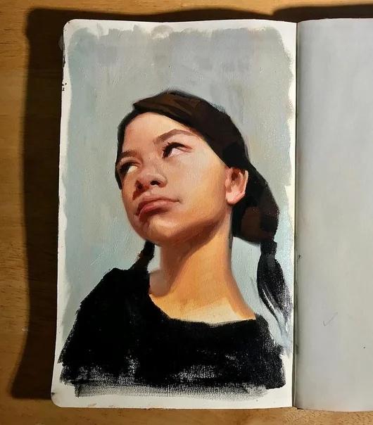 Даррен Батчер - невероятно талантливый художник из Великобритании
