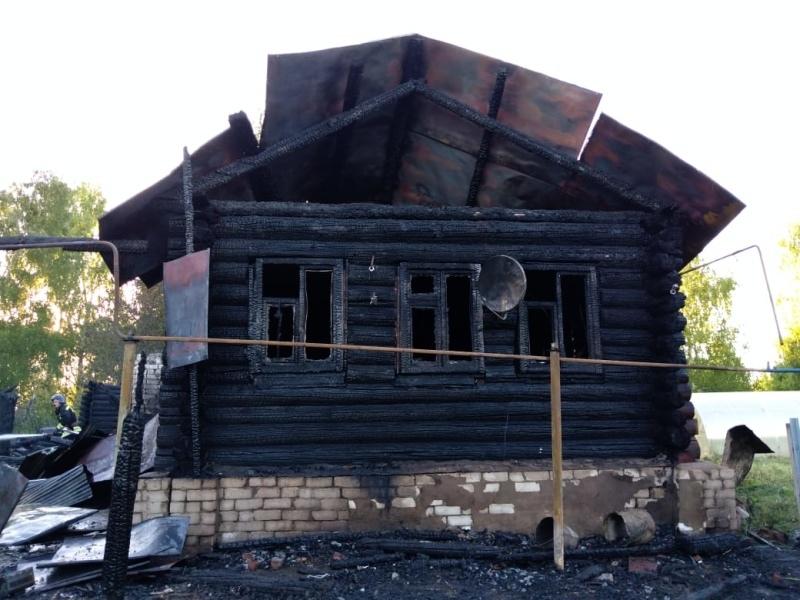 Пенсионерка пострадала при пожаре в Волжском районе