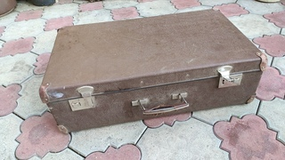 Преобразила старый чемодан с мусорки // Transformed an old suitcase from the trash