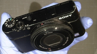 Cleaning the sensor in Sony RX100 mark 1
