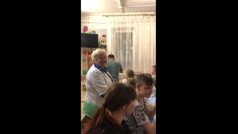 Днюшка Игорёчка в больничке