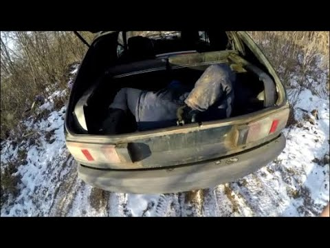 Пранк сбил бомжа на машине мое др