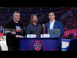 #CSKABasketShow: Марко Юриовоури и Евгений Бурин, Полина Горшкова и Сара Ристовска, Янис Стрелниекс